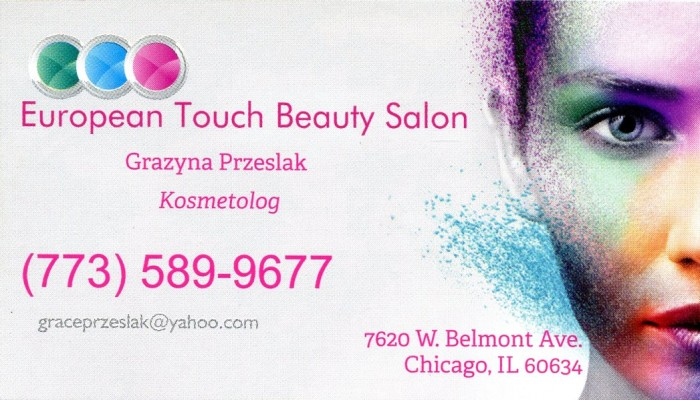 European touch beauty salon terminalgr for A touch of beauty salon