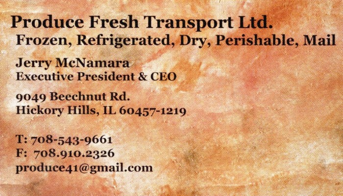 Produce Fresh Transport Ltd.