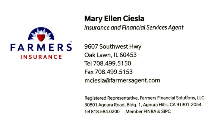 FARMERS - Mary Ellen Ciesla