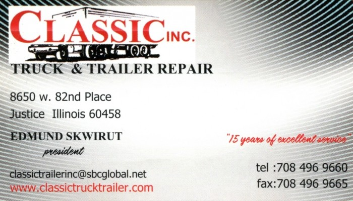 Classic Truck & Trailer Repair Inc.