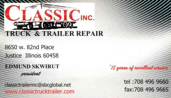 Classic Truck & Trailer Repair Inc.
