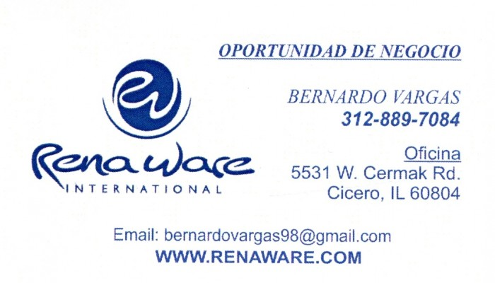 Renaware International - Bernardo Vargas