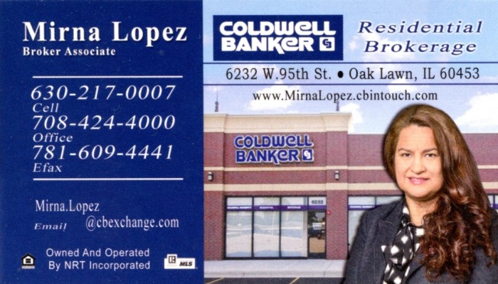 Coldwell Banker - Mirna Lopez