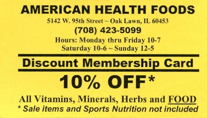 American Health Foods
