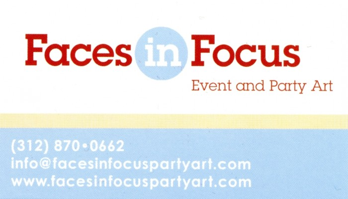 Faces In Focus Event and Party Art