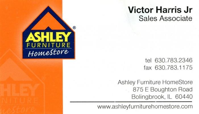 Delicieux Ashley Furniture   Victor Harris Jr