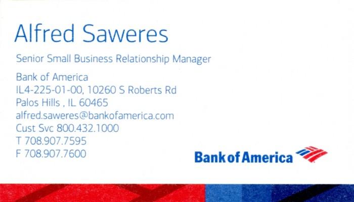 Bank of America - Alfred Saweres