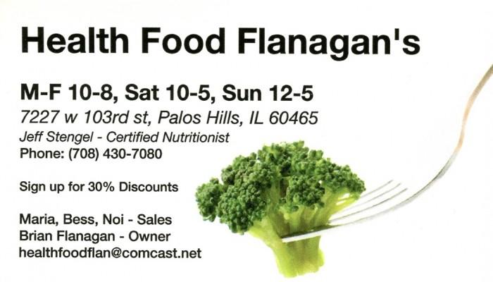 Health Food Flanagan's