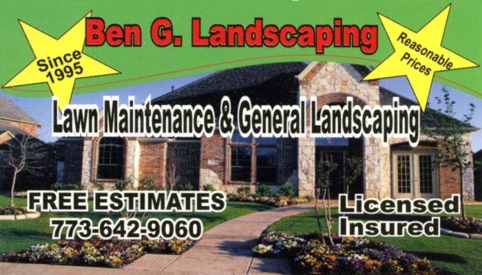 Ben G. Landscaping