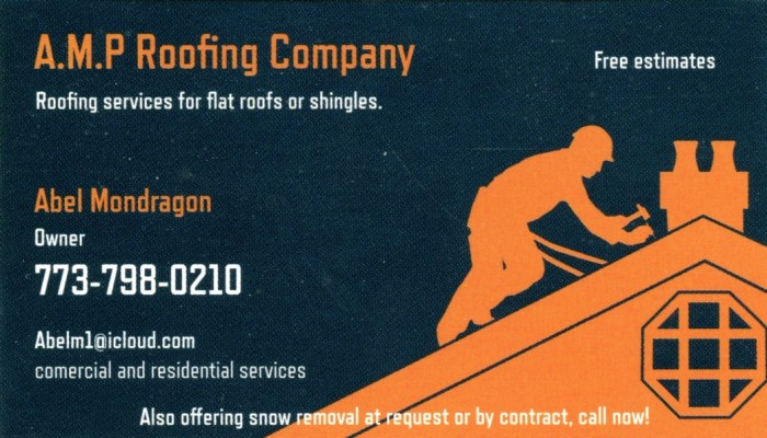 A.M.P Roofing Company