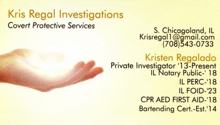 Kris Regal Investigations