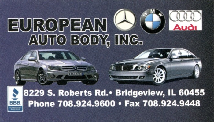 European Auto Body Inc Terminalgr