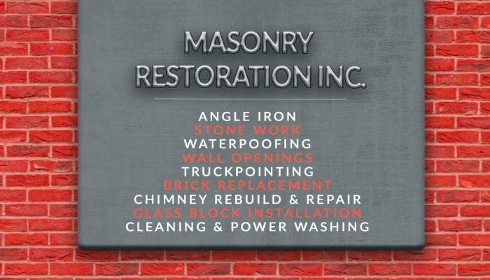 Masonry Restoration Inc Terminalgr